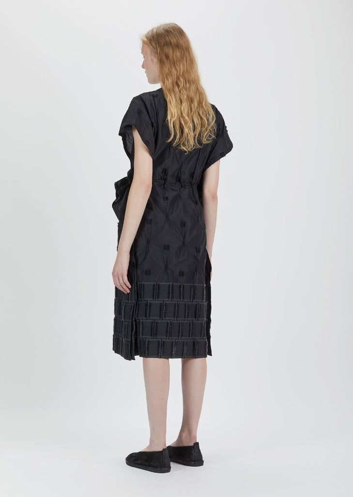 Hummingbird Jacquard Dress