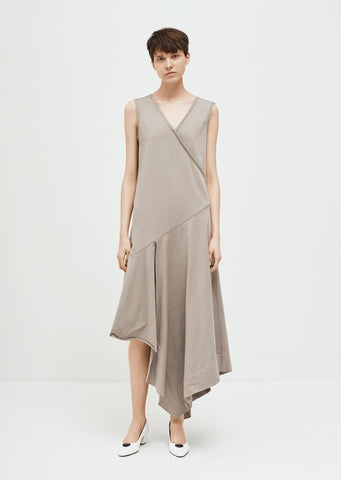 Asymmetrical Sleeveless Dress