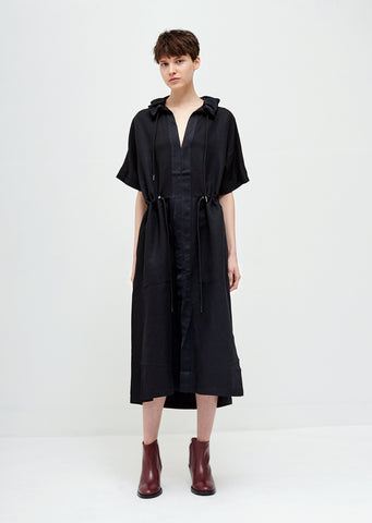 Hyde Short Sleeve Drawstring Dress