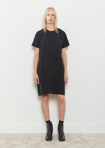 Seam Cupro Dress