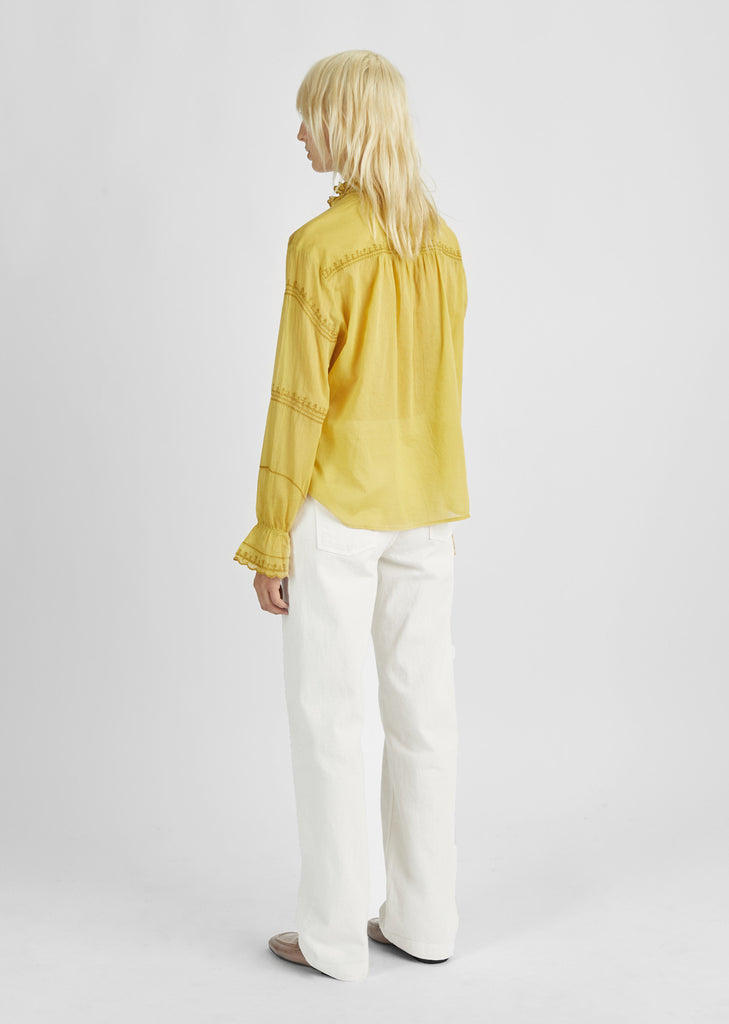 Louna Henley Blouse