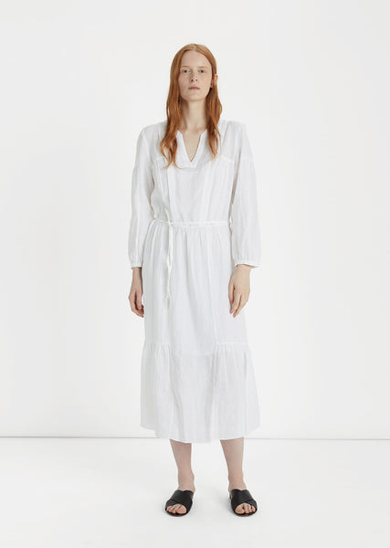 Dorset Chic Linen Dress
