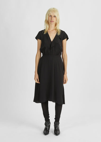 West Asymmetrical Hem Dress