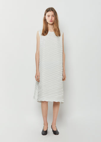 Square Pleats Dress