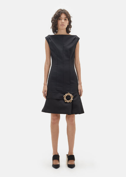 Wool Claude Dress