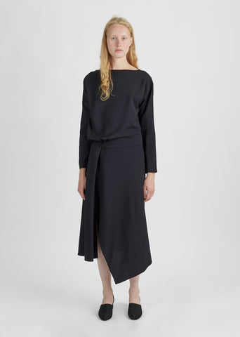 Dondolo Draped Dress
