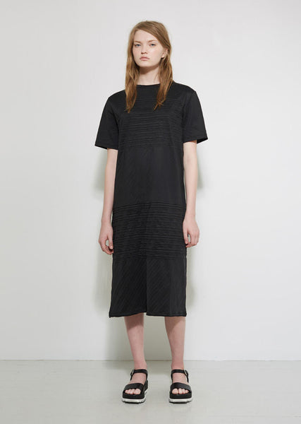 Jil Sander Pleated T-Shirt Dress La Garconne