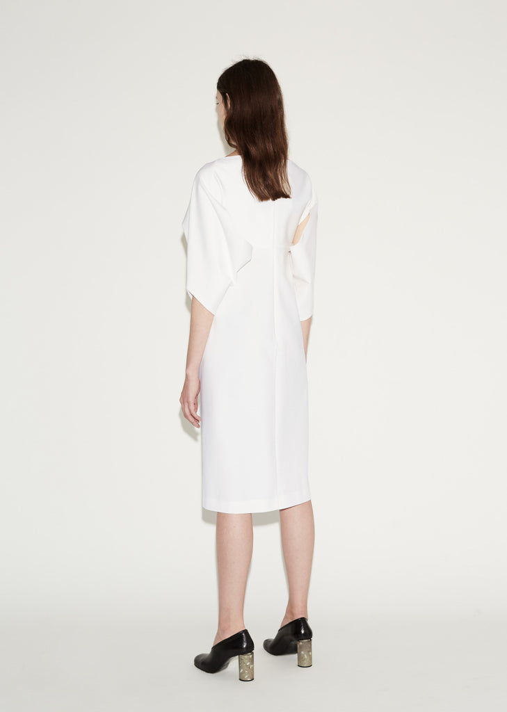 Chachacha Draped Sleeved Dress