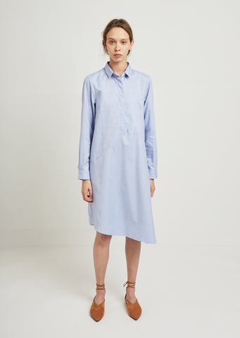 Oxford Cotton Shirt Dress