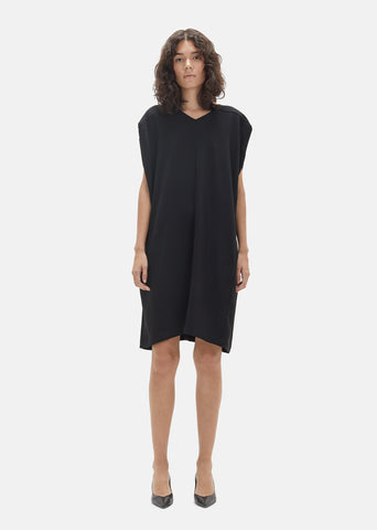Double Crepe Cocoon Dress