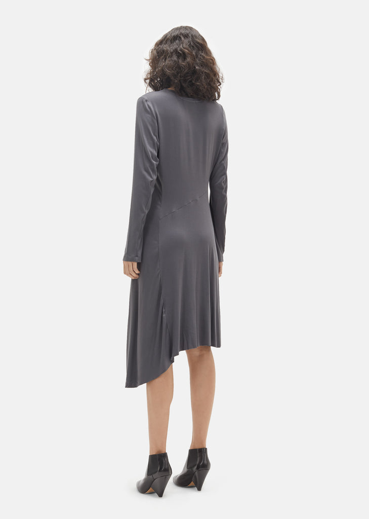 Jersey Asymmetric Dress
