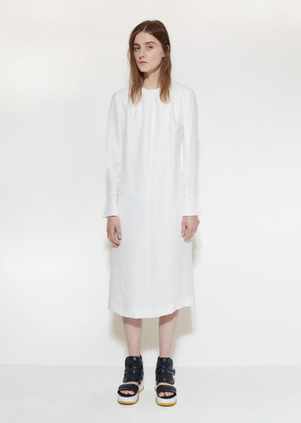 Marni Poplin Shift Dress La Garconne