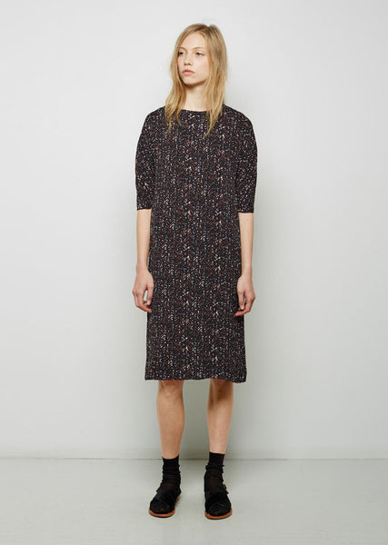Marni Herringbone Shift Dress La Garconne