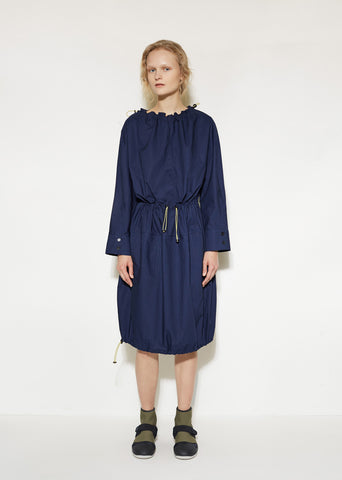 Drawstring Gathered Dress
