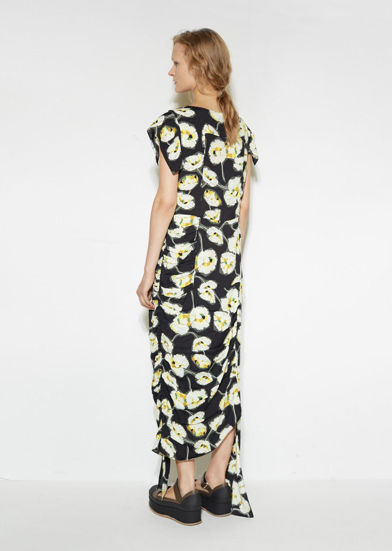Deconstructed Floral Dress