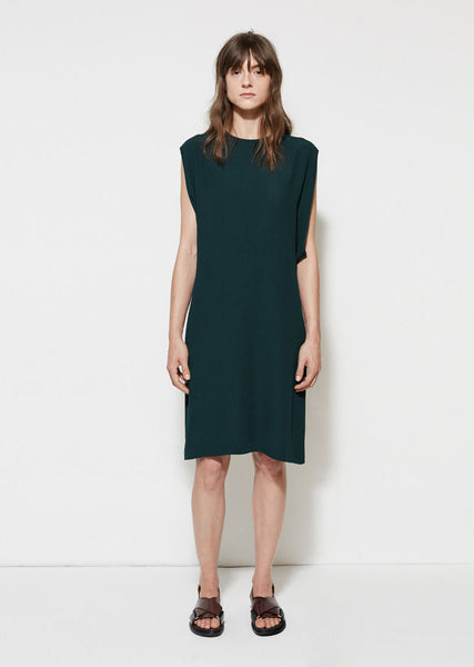 Marni Crepe Satin Tunic Dress La Garconne