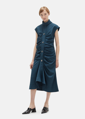 Technical Gabardine Dress