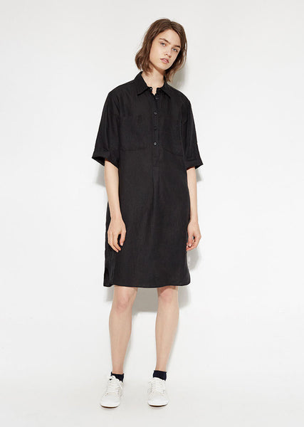 Margaret Howell Slim Pocket Shirt Dress La Garconne