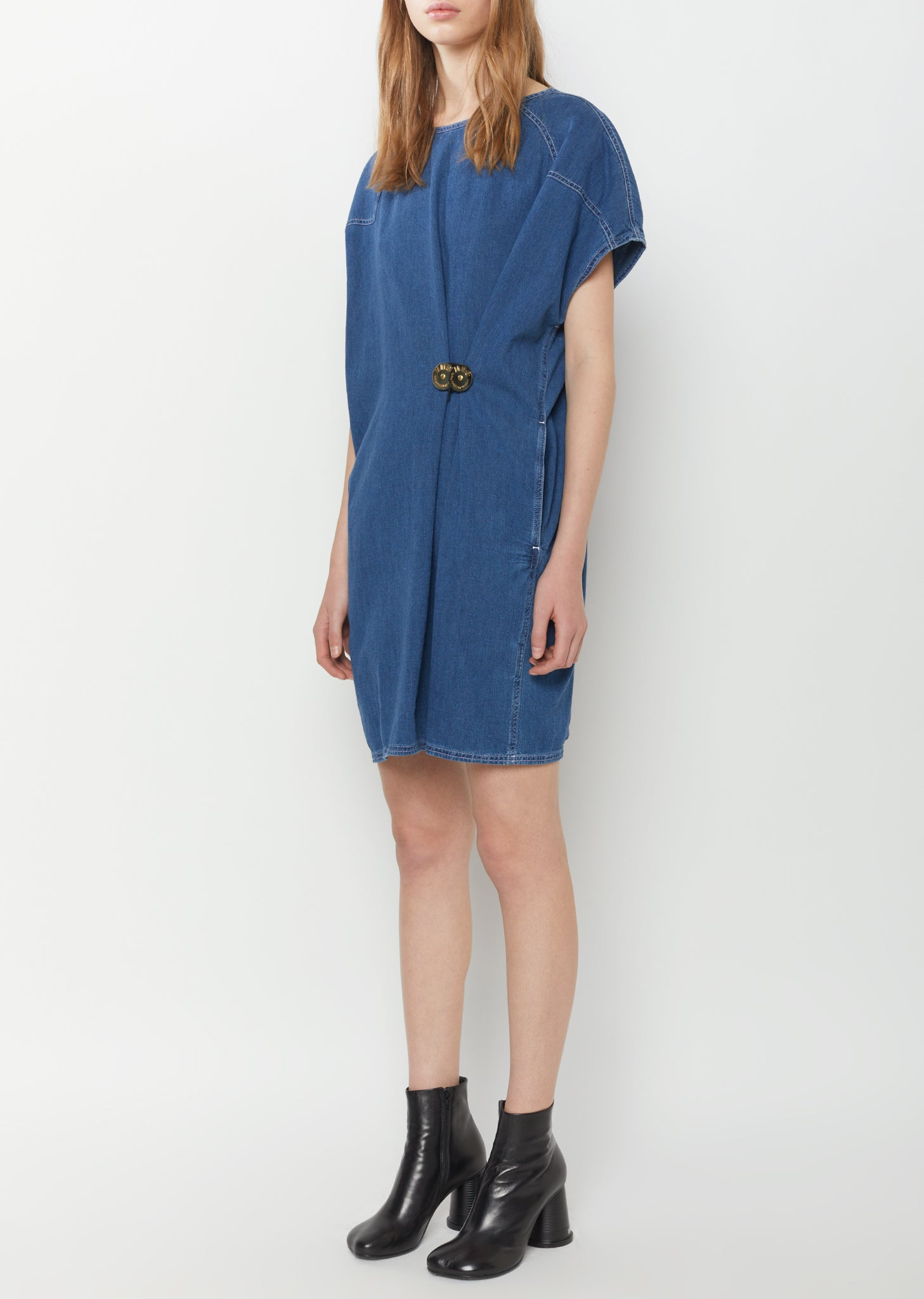 80's Wash Denim Dress