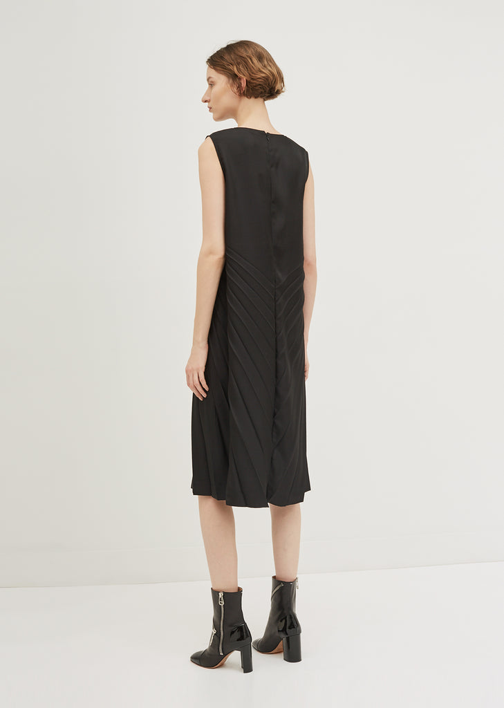 Poly Twill Dress