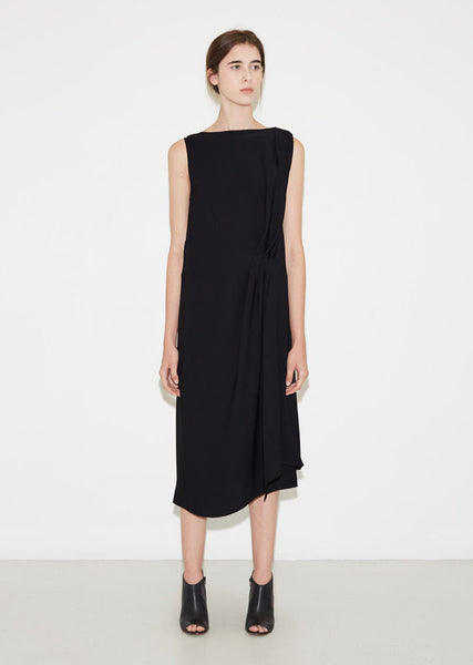Maison Margiela Georgette Cascading Dress La Garconne