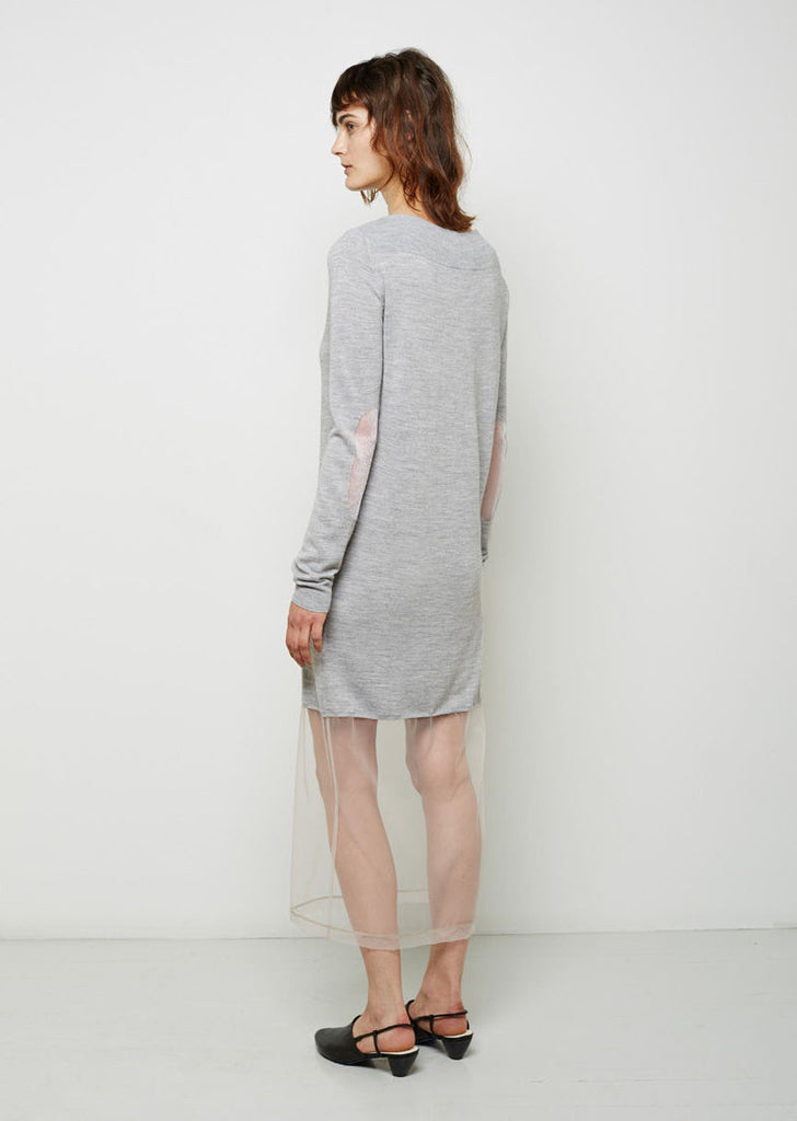 Tulle Layer Knit Tunic