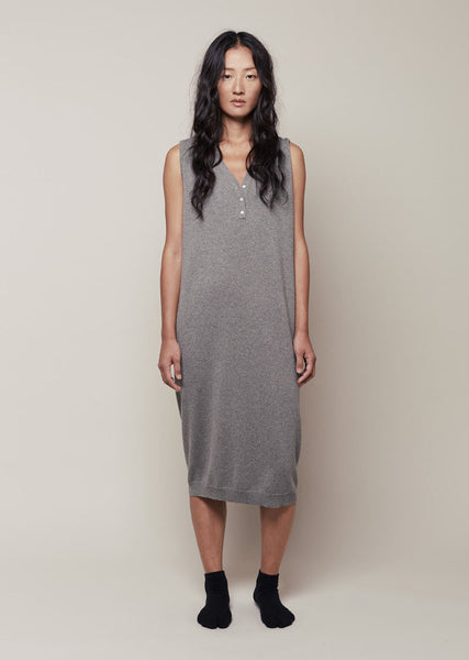 Moderne Henley Dress La Garconne