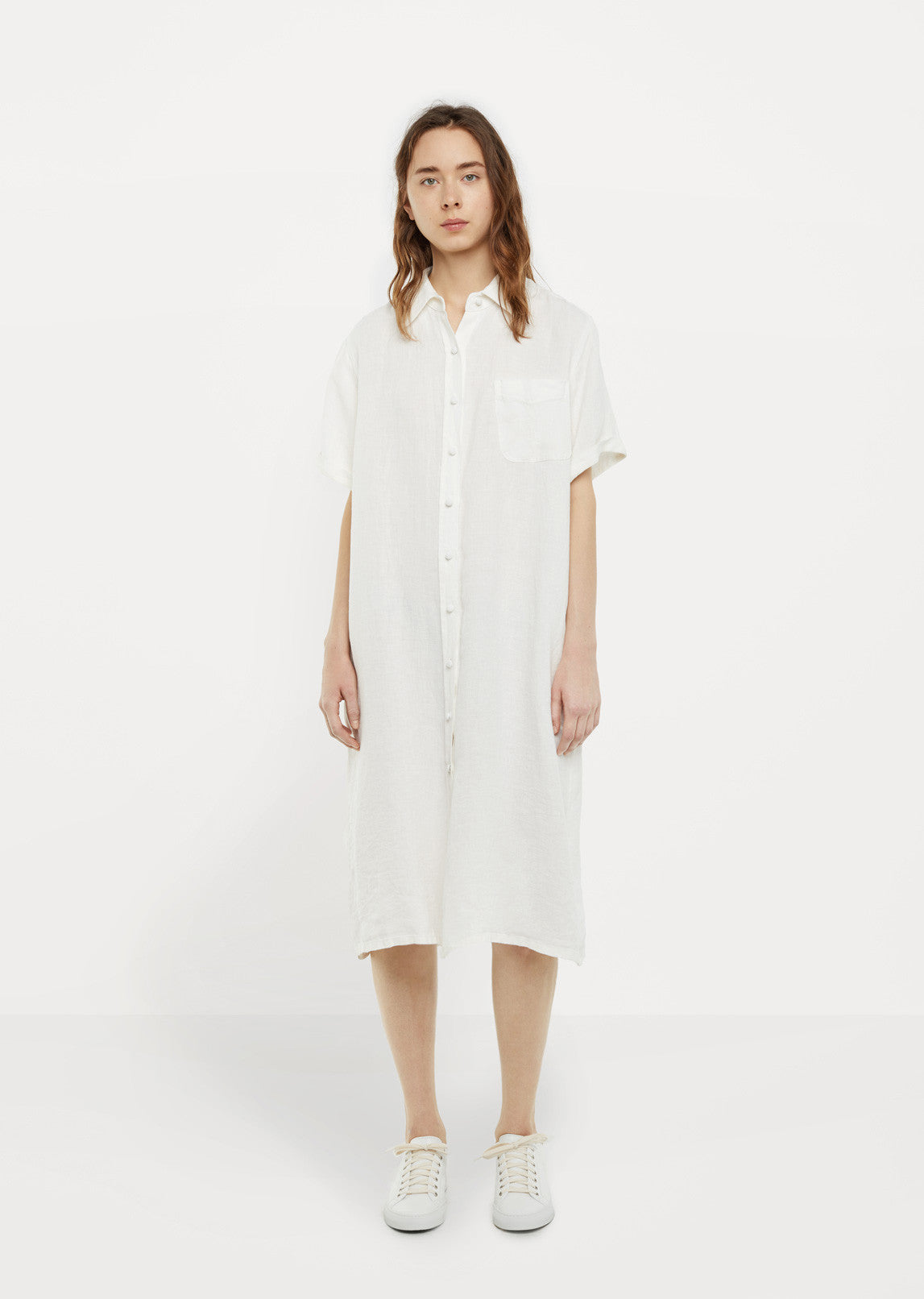 Linen Shirt Dress By La Garonne Moderne La Garonne