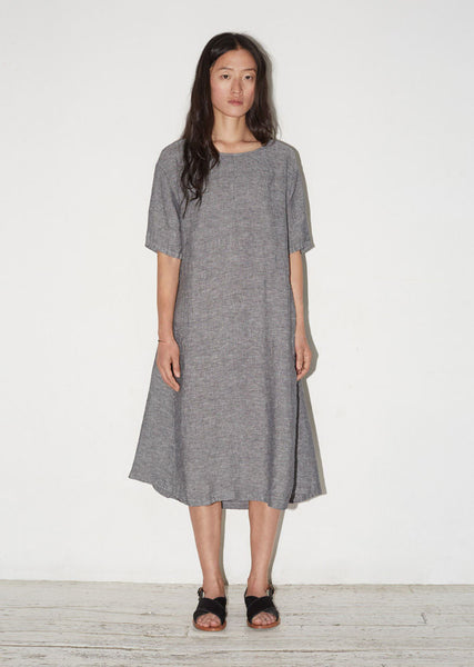 Moderne Linen Sleep Dress La Garconne