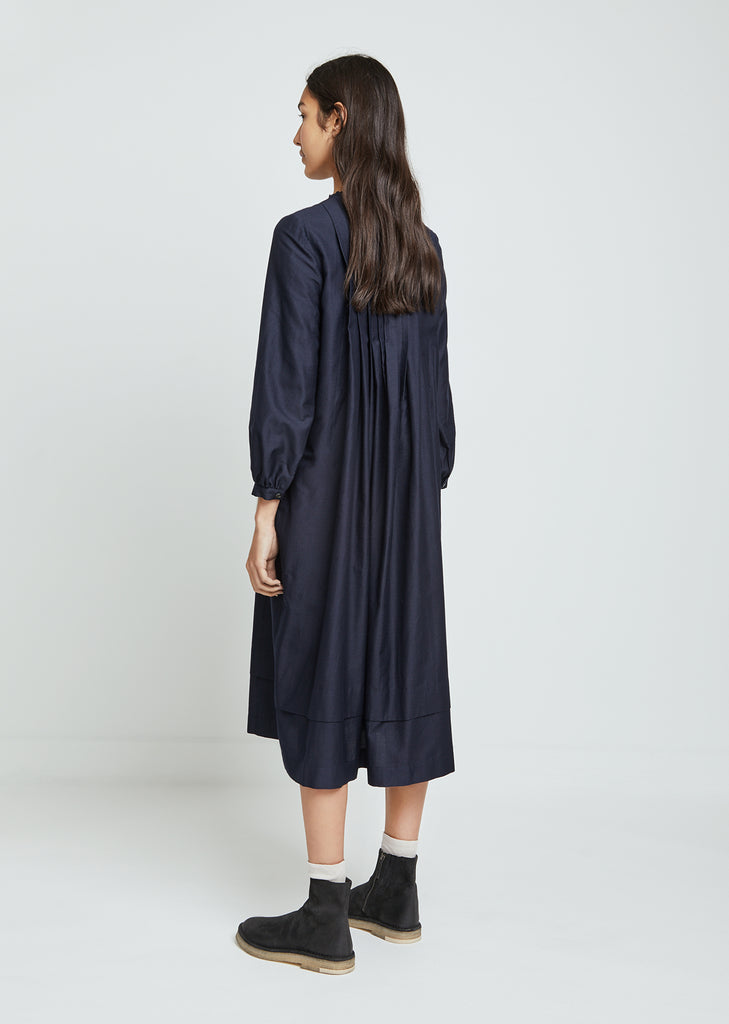 Calm Pleated Dress