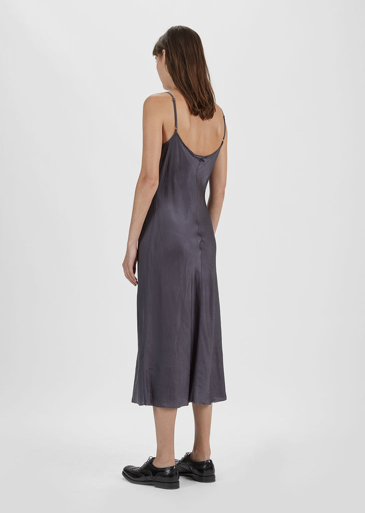 Bias Long Slip Dress
