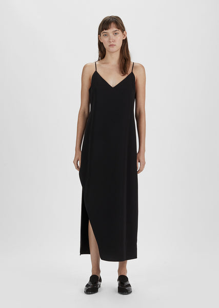 Slit Slip Dress