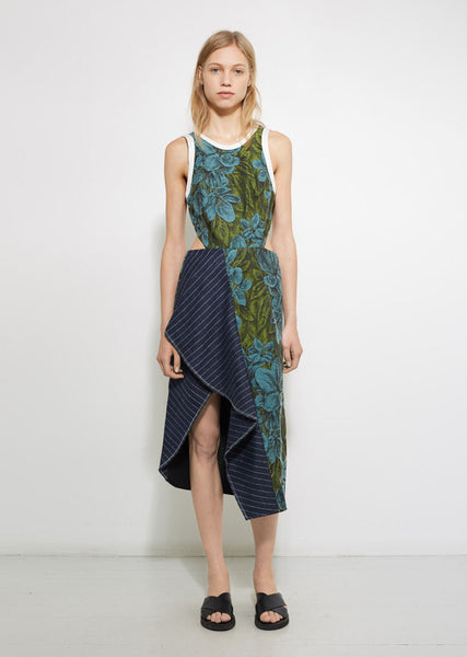 3.1 Phillip Lim Floral Ruffle Dress La Garconne