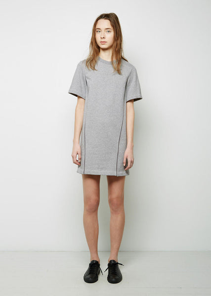 3.1 Phillip Lim Crepe de Chine Seamlines Sweatshirt Dress La Garconne