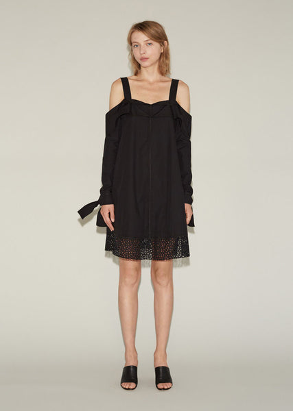 Proenza Schouler Off-the-Shoulder Dress La Garconne