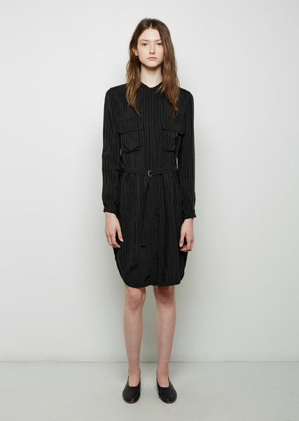 Belted Workshirt Dress