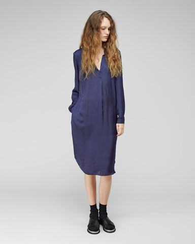 Liquid Satin Tunic Dress