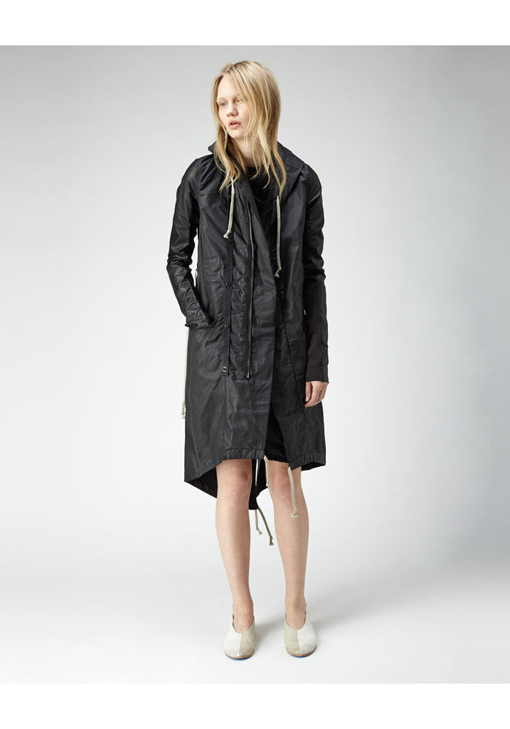 Coated Cotton Parka