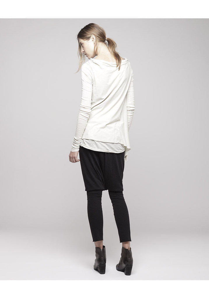 Drapey Boatneck Top