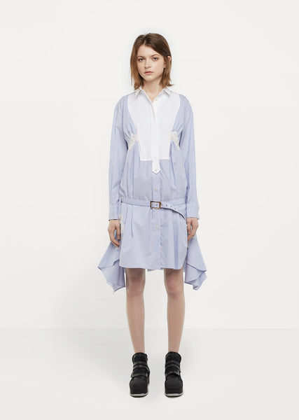 Silk Organza Shirtdress