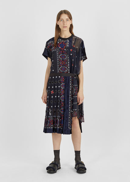 Bandana Pattern Dress