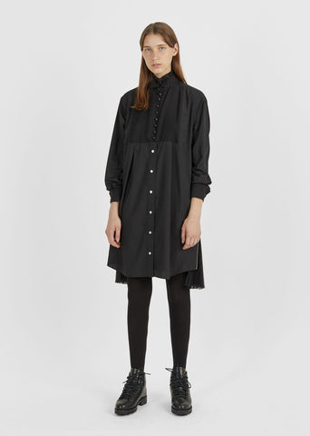 Front Bib Shirt Dress