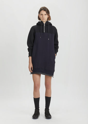 Sponge Sweatshirt Dress