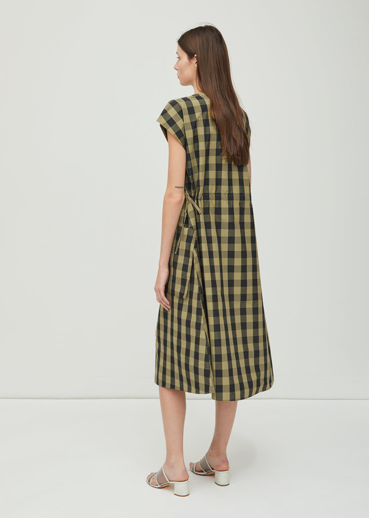 Dong Gathered Waist Dress