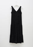 Lurex V-Neck Dress