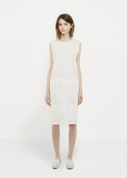White Popeline Dress