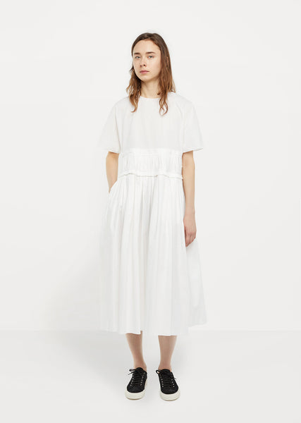 Washed Light Popeline Dress