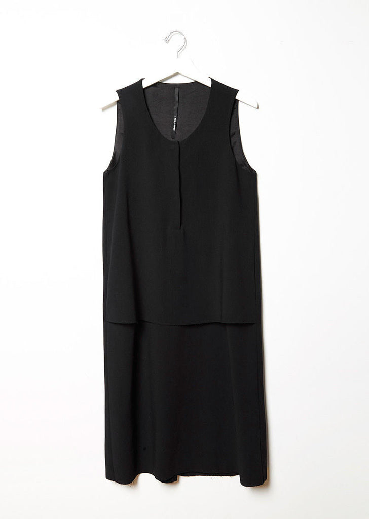 Stretch Crepe Dress