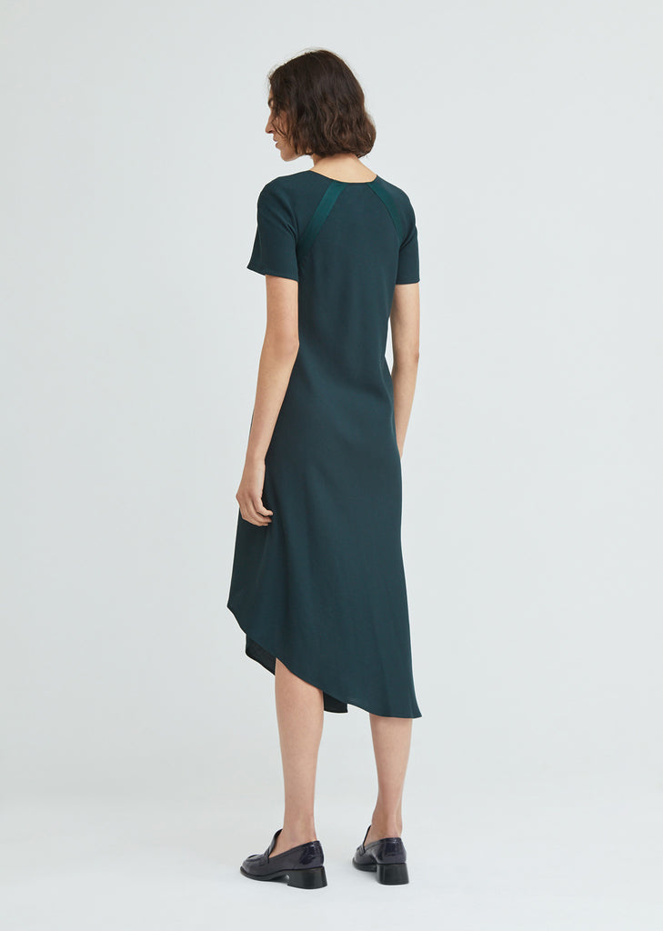 Sophie Snap Front Crepe Dress
