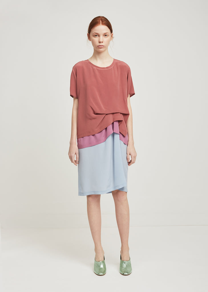Joey Color Block T-Shirt Dress